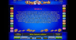 King of Cards Regeln